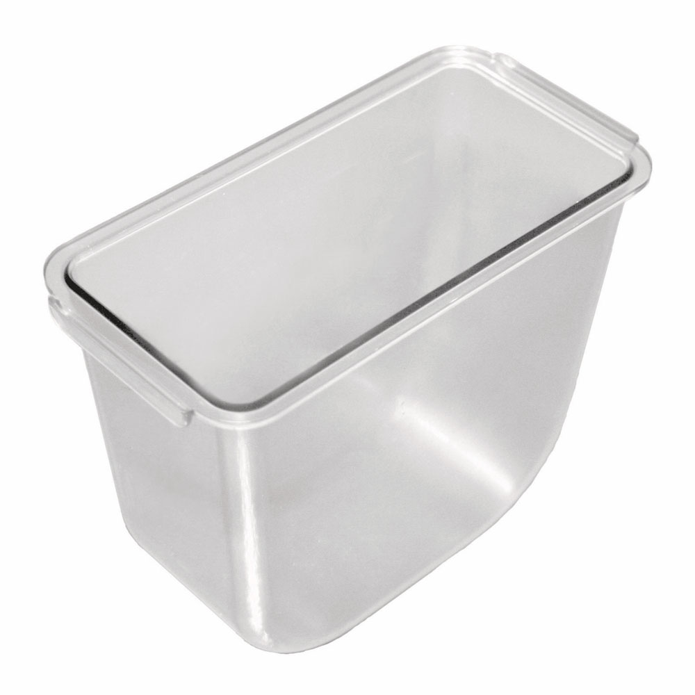 San Jamar BD105 Replacement Tray, 1.5-qt, Deep for Domed Garnish Condiment Center