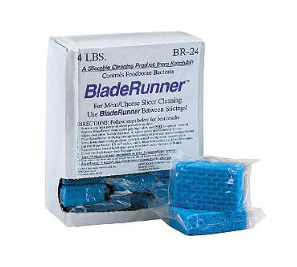 San Jamar BR24 Bladerunner Slicer Cleaner Sponge (24 per pack)