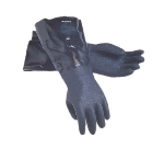 San Jamar 1217EL Lined Neoprene Dishwashing Glove, 17-in, Rough Grip, One Size