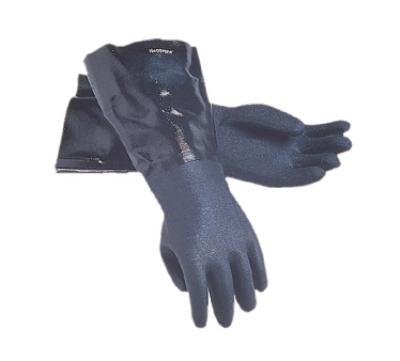 San Jamar 1217EL Lined Neoprene Dishwashing Glove, 17-in, Rough Grip, One Size