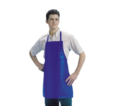 San Jamar 604VBA37-BR Vinyl Apron, 25 x 37-in, Heavyweight, Waterproof, Fire Retardant, Brown