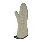 San Jamar 800FG15 Oven Mitt, Fire Retardant, 15-in, One Size, Tan