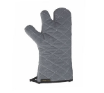 San Jamar 850TF15-GY Cotton Oven Mitt, 15-in, Heavy Knit Interior, Ambidextrous, Grey