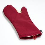 San Jamar KT0212 Oven Mitt, 12-in, Conventional Style