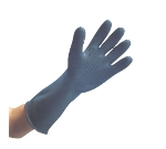 San Jamar R93517 Heavy Duty Natural Rubber Glove, 17-in, Rolled Cuff, One Size