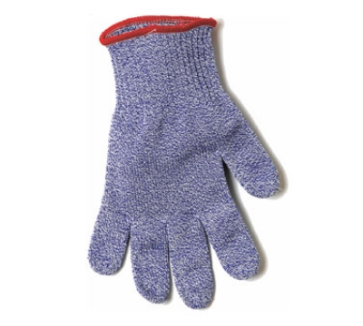San Jamar SG10-BL-S Cut Resistant Seafood Glove, Ambidextrous, Small, Blue