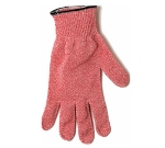 San Jamar SG10-RD-M Cut Resistant Meat Glove, Ambidextrous, Medium, Red