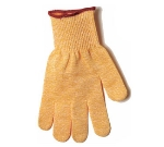 San Jamar SG10-Y-S Cut Resistant Poultry Glove, Ambidextrous, Small, Yellow
