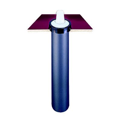 """San Jamar C2210C18 Euro EZ-Fit Cup Dispenser, Counter Mount, 6-24 oz Cups, 18""""L"""