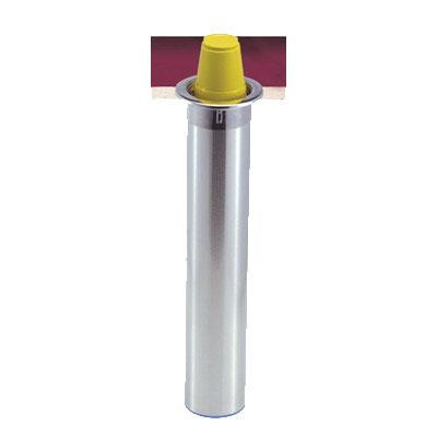 San Jamar C3400CF Gourmet Counter Mount Cup Dispenser, Fits 12-24 oz Foam Cups, All Mount