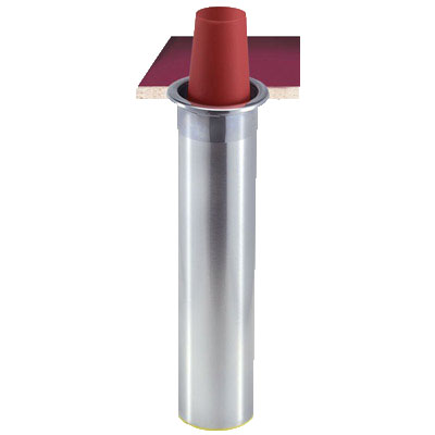 San Jamar C3500CV Counter Mount Beverage Cup Dispenser, 32-46 oz Foam Cups, Vertical Mount