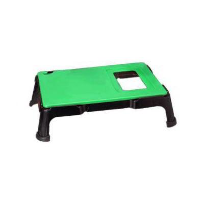 "San Jamar CBV1824SYSGN Versa-Prep Cutting Board System - 18"" x 24"", Green"