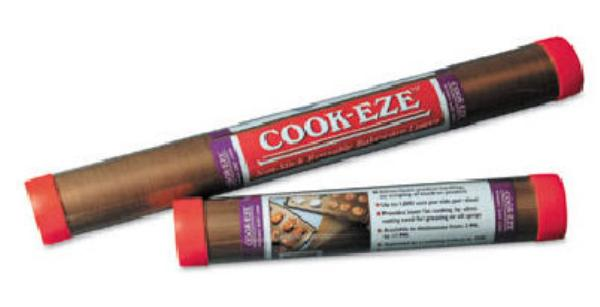 San Jamar CE6225 Cookeze Liners - 18 x 26, 6 Mil Thick, 1 tube = 5 sheets