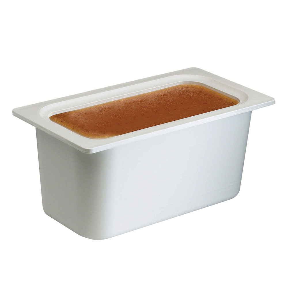 "San Jamar CI7003WH Chill-It Refrigerant Filled Food Pan - 1/3 Size, 6"" Deep, White"
