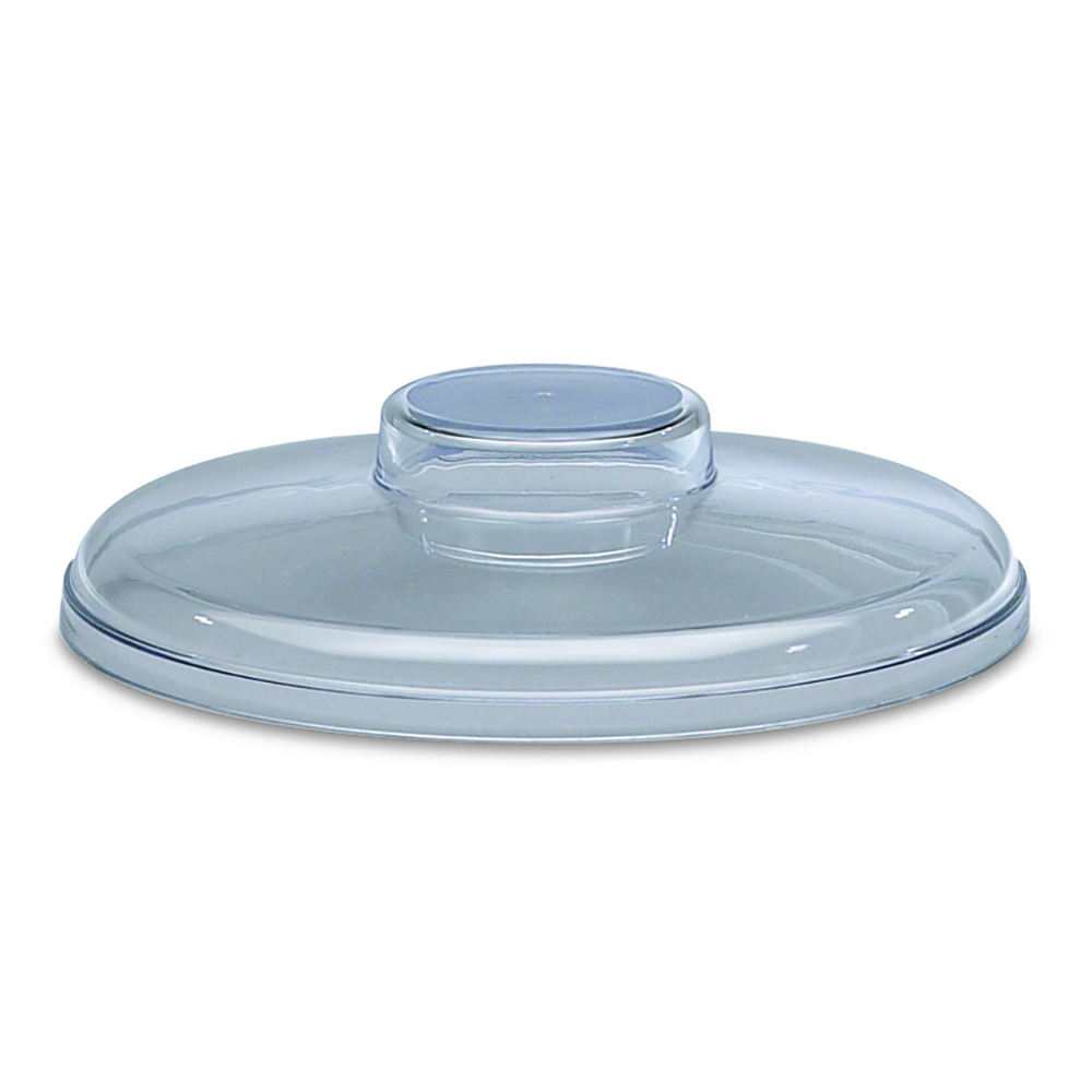 San Jamar CI7016H Chill-It Crock Lid, Fits 2 qt. Round Crock, Clear