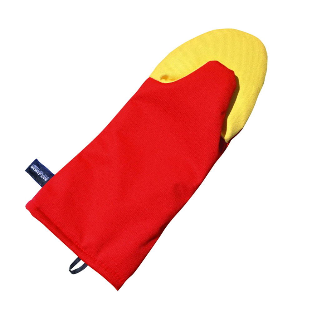San Jamar CTP17 17-in Cool Touch Oven Mitt w/ 500-F Heat Protection, Magnet & Loop, Kevlar