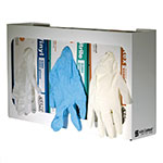 San Jamar G0804 White Disposable Glove Dispenser (3 box cap.)