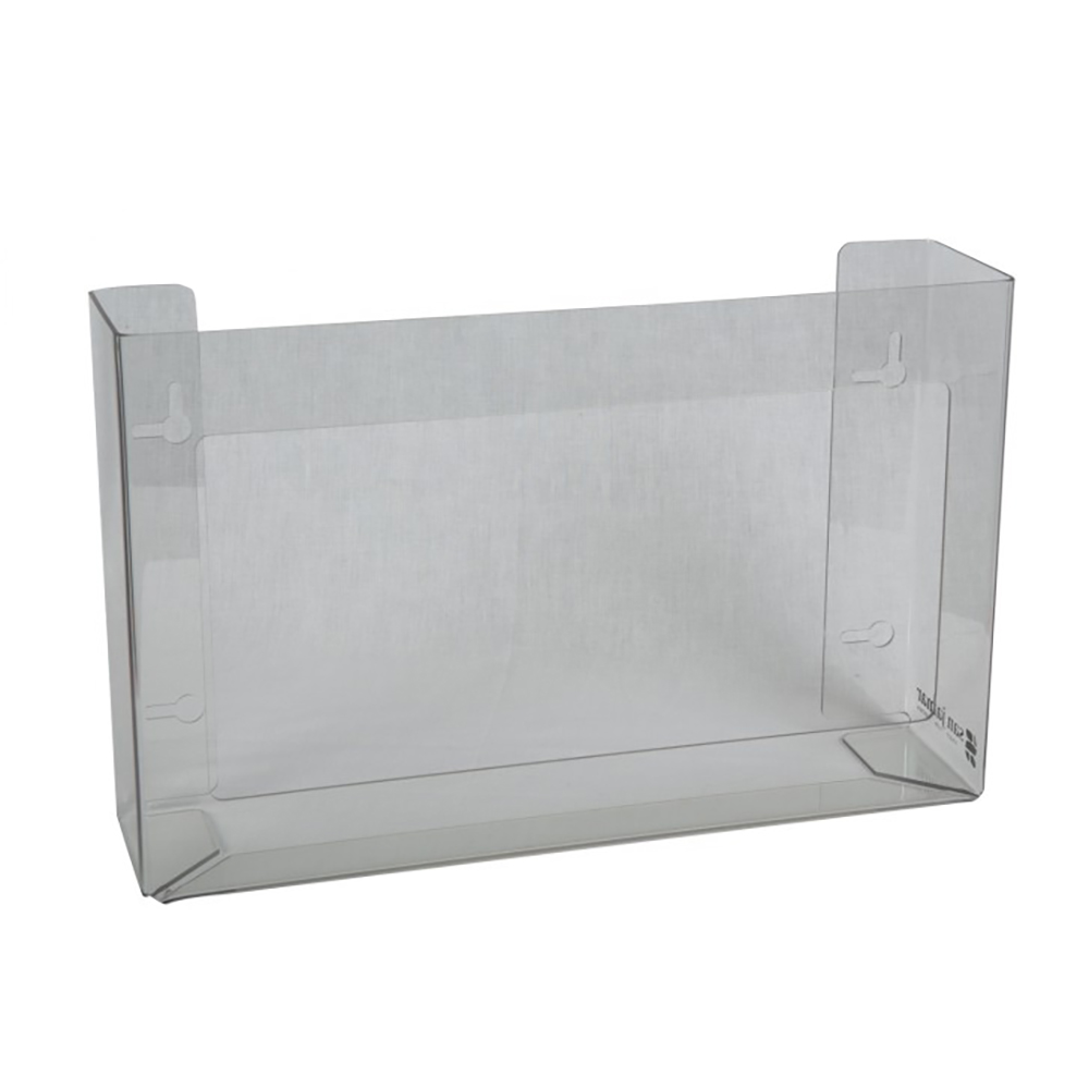 "San Jamar G0805 16"" Disposable Glove Dispenser, Clear"