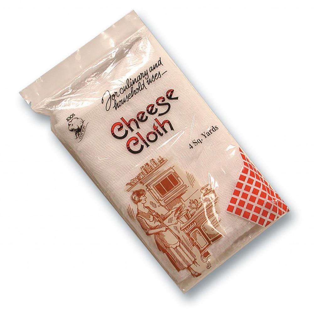 San Jamar G-10-R Cheesecloth, Retail Packaged, 4-sq Yards Per Bag,  Grade 10