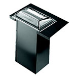 San Jamar H2000SS In-Counter 750 Minifold Napkin Dispenser, Satin Stainless