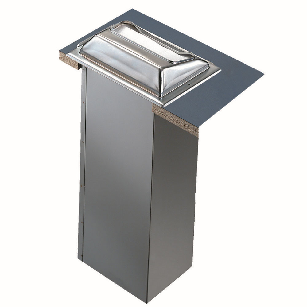 San Jamar H2001XC In-Counter 750 Fullfold Napkin Dispenser, Matte Chrome & Stainless