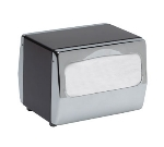 San Jamar H4001XC Tabletop Two-Sided 170 Fullfold Napkin Dispenser, Chrome & Stainless