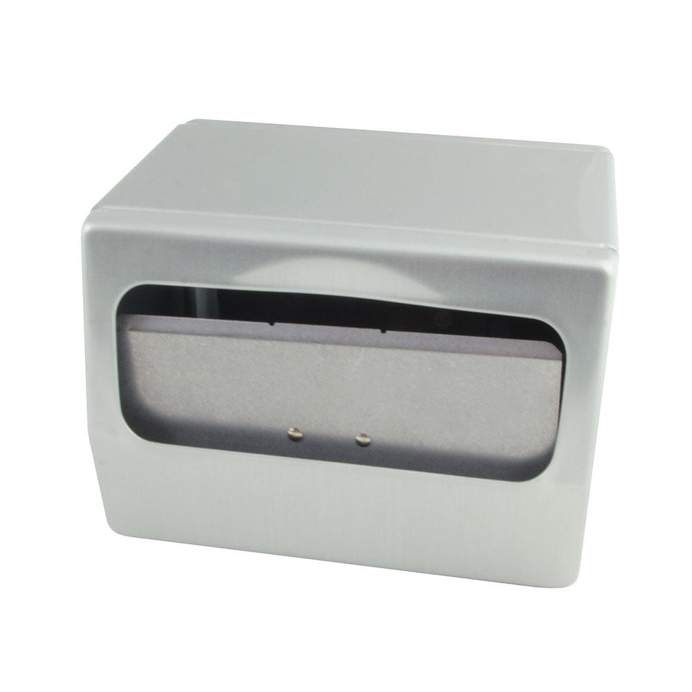 San Jamar H4001XC Tabletop Two-Sided 170 Fullfold Napkin Dispenser, Chrome & Stainless