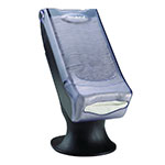 San Jamar H5000SCL Venue Napkin Dispenser w/ Stand, Clear