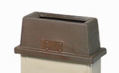 San Jamar KA1950BR Flatware Retriever, Fits Slim Jim Can, 9 in H, Plastic, Brown