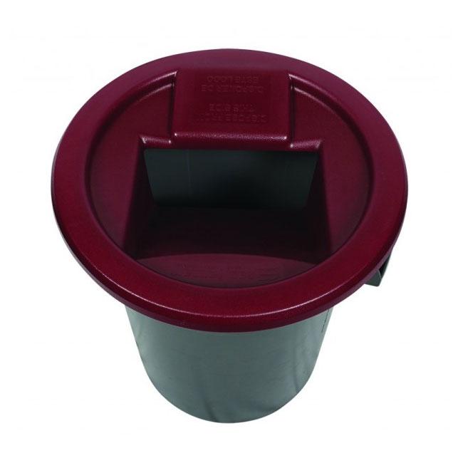 San Jamar KA3244 Flatware Retriever for 32 & 44-gal Round Can, Plastic