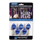 San Jamar KLP200 Kleen Plug, Use To Keep Beer Taps Clean Overnight, Pack of 5