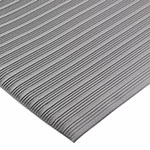 San Jamar KM4360GY Sponge Floor Runner, Vinyl, 3 x 60-ft x 3/8-in, Grey