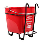 San Jamar KPS196WM Wall-Mount Stand for Use With KP196 Kleen-Pails