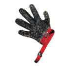 San Jamar MGA515L Chainex Cut Resistant Glove, 5 Finger, SS Mesh, Ambidextrous, Large
