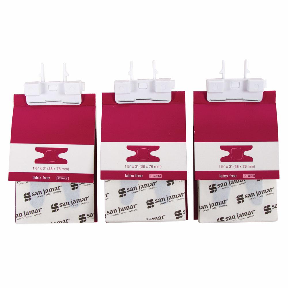 San Jamar MKBR903 Knuckle Bandage Refill for Mani-Kare Dispenser