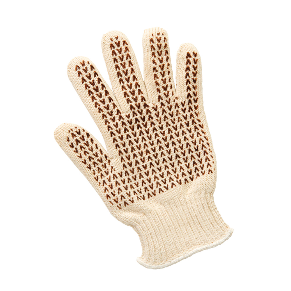San Jamar ML5000 Heavyweight Cotton Knit Glove, Double Layer, Heat Resistant, One Size