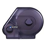 San Jamar R6500TBK Quantum 13 in Jumbo Toilet Tissue Dispenser, w/ Stub Roll, Trans Black Pearl