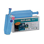 San Jamar RCU642 Rapi-Kool Cold Paddle, Polycarbonate, 60 oz. Capacity, NSF