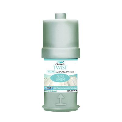 San Jamar RW107801231 Fragrance Refill for Arriba Twist w/ Premium Essential Oils, Pure Linen