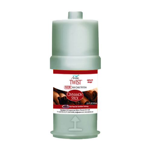 San Jamar RW107801255 Arriba Twist Fragrance Refill, Cinnamon Stick