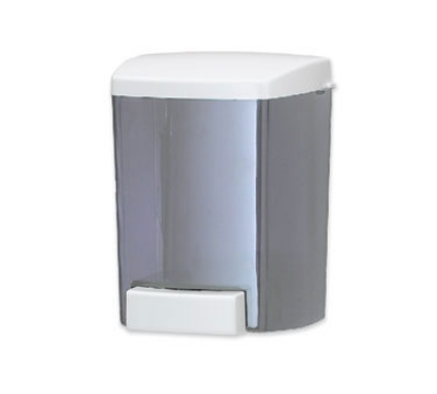 San Jamar S30TBL Classic Soap Dispenser, Wall Mount, For Lotions and Cream Soaps, Arctic