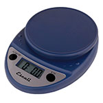 "San Jamar SCDG11BLR Escali 11-lb Digital Scale - 8.5"" x 6"", Royal Blue"