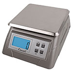 "San Jamar SCDG13 Escali 13-lb Digital Scale w/ Removable Platform - 7.25"" x 9.75"", Stainless"