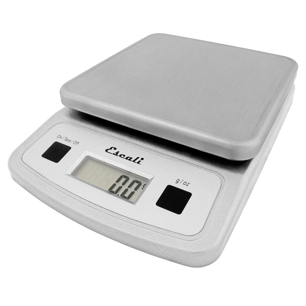 "San Jamar SCDG13LP Escali 13-lb Digital Scale w/ Removable Platform - 5.75"" x 8.25"", Stainless"