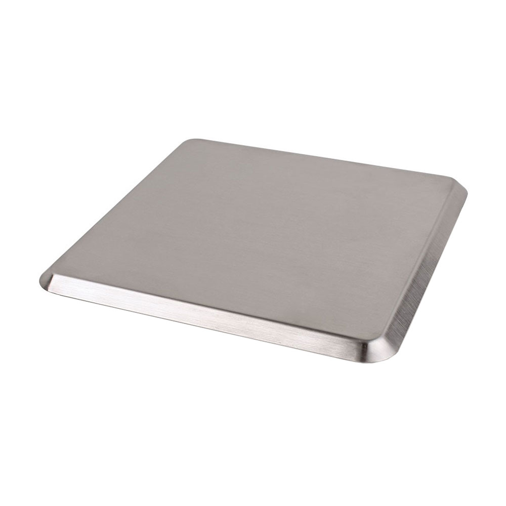San Jamar SCDG13PL Replacement Plate for Escali SCDG13 Digital Scale, Stainless