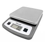 "San Jamar SCDG2LP Escali 2-lb Digital Scale - 5.75"" x 8.25"", Stainless Steel"