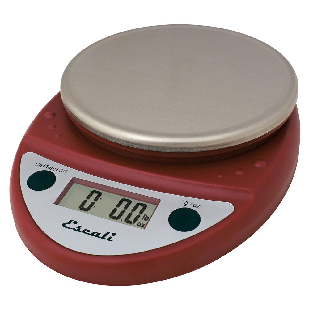 San Jamar SCDGP11RD Escali 11-lb Round Digital Scale w/ R...