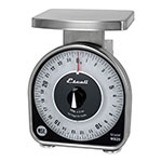 """San Jamar SCMDL25 25-lb Dial Scale - 6"""" x 4.63"""", Stainless"""
