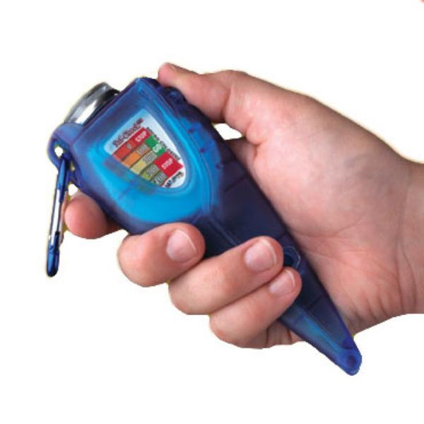 San Jamar SFC1200CL Saf-Check Chlorine Measurer with Thermometer