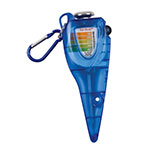 San Jamar SFC1200QT Saf-Check Quaternary Measurer with Thermometer